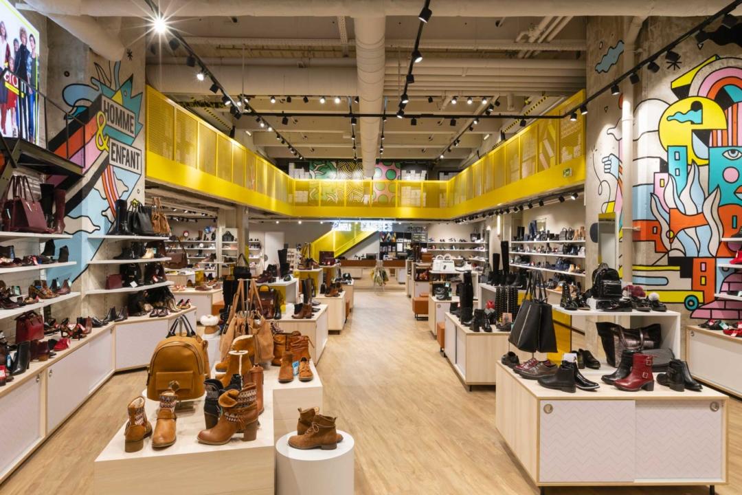 Design retail : nouvelle boutique Éram Paris La Défense
